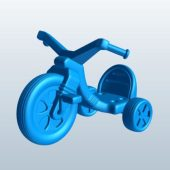 Large Wheel Tricycle Vehicle