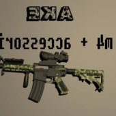 M4 Gun Accessorie