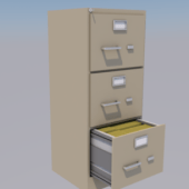 Office Working Filing Cabinet