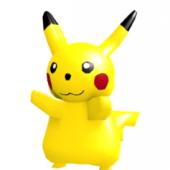 Pikachu High Poly