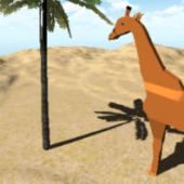 Rigged Giraffe Origami