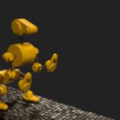 Robot Dog Animated