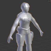 Soldier Low Poly