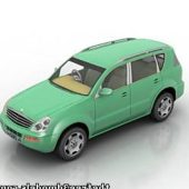 Ssangyong Rexton Car