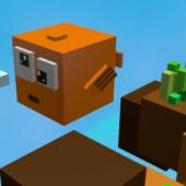 Lego Pixel Fish