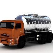 Vehicle Oil Tanker Truck