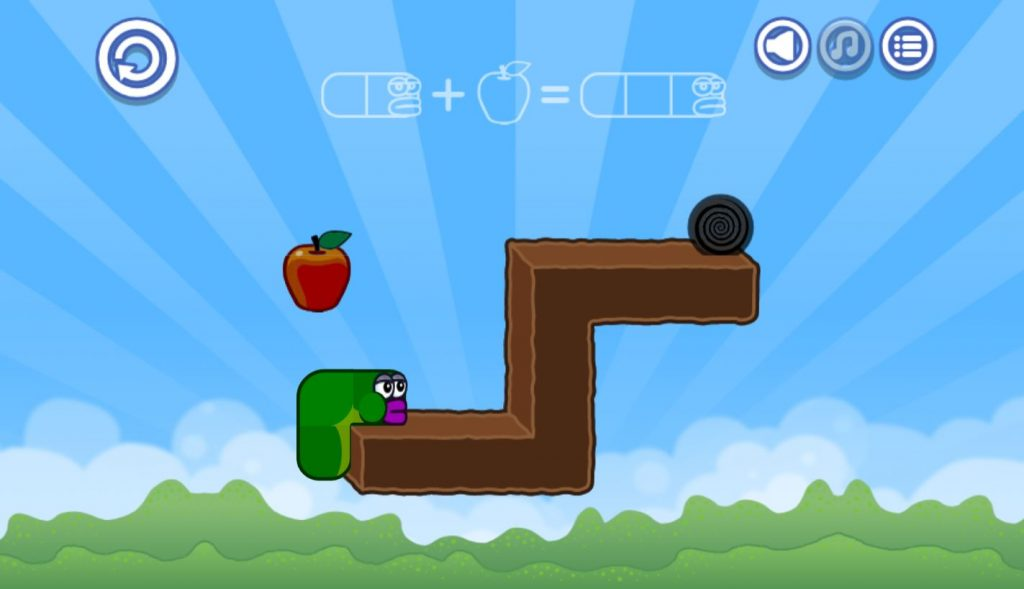 Play game Apple Worm cool math games  Free online Arcade