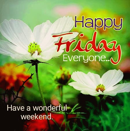 Beautiful Happy Friday images
