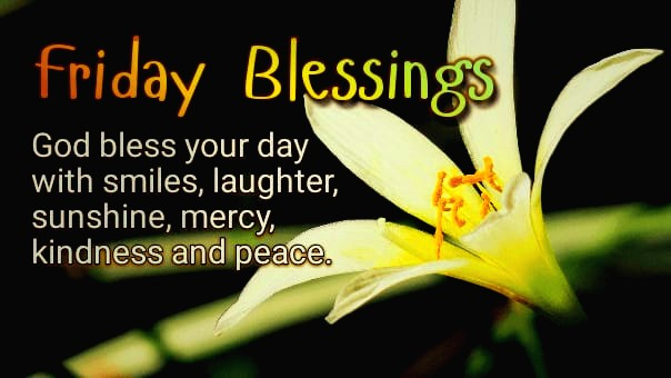 Good morning friday blessing quotes