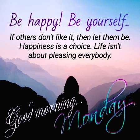Happy Good morning monday quotes