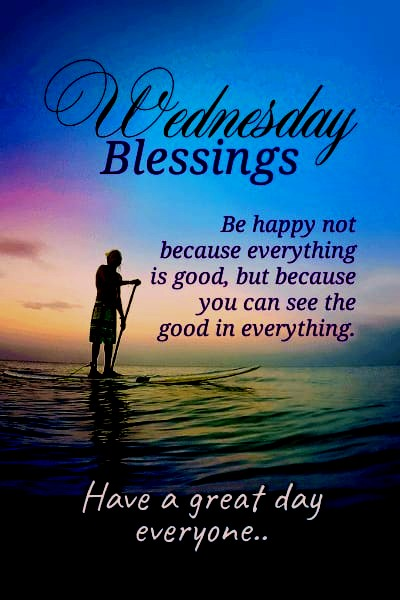 Happy Wednesday Blessing