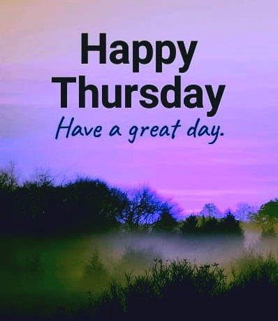 happy thursday natural image
