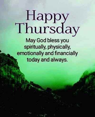 happy thursday prayer