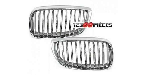 Grilles de calandre chromées pour BMW série 3 coupé E92