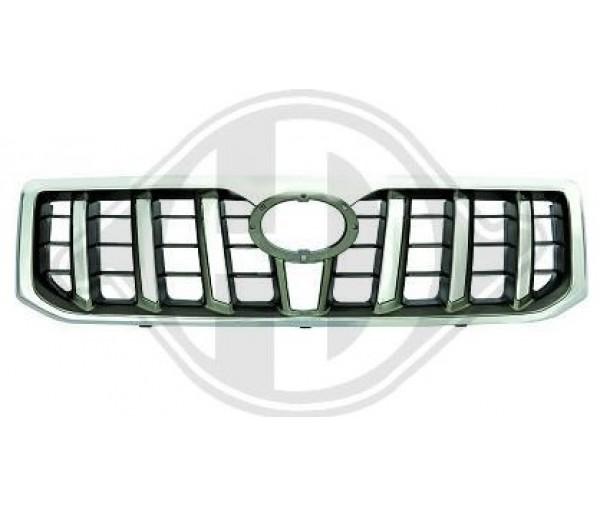 Calandre noire et chrome Toyota LAND CRUISER 09/2002 au 02