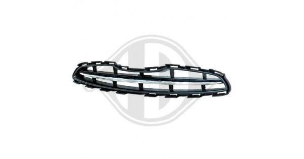 Grille de calandre (noire + chrome) Nissan MICRA 2010-08