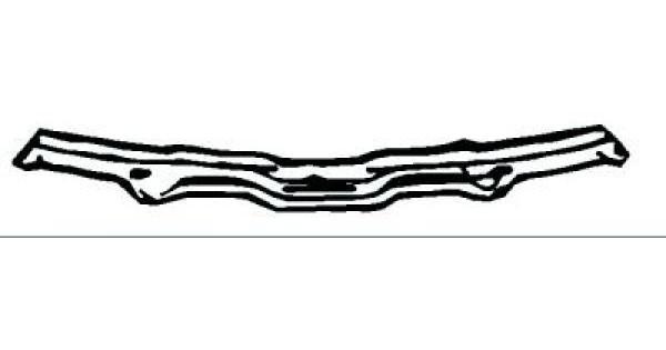 Traverse AV supérieure (support serrure) pour Audi 100