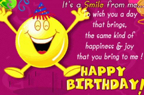 nice Funny happy birthday wishes to best friend poems with image