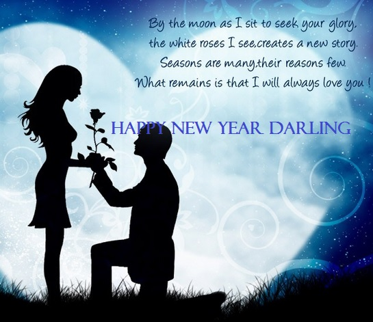 New Year Sms Quotes: Romantic New Year 2015 Wishes Images For Girl & Boy Friend