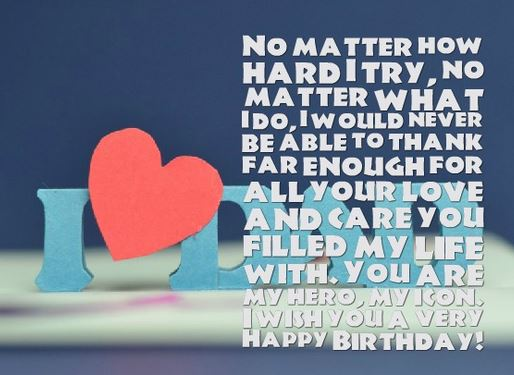 Heart Touching 77 Happy Birthday DAD Quotes from Daughter ...