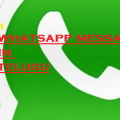 Most Funny SMS WhatsApp Messages in Telugu & English Message Collection Msg SMS