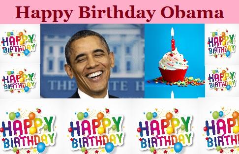 Obama Birthday President Barack Happy B Day Greeting Obama Wishing Happy Birthday