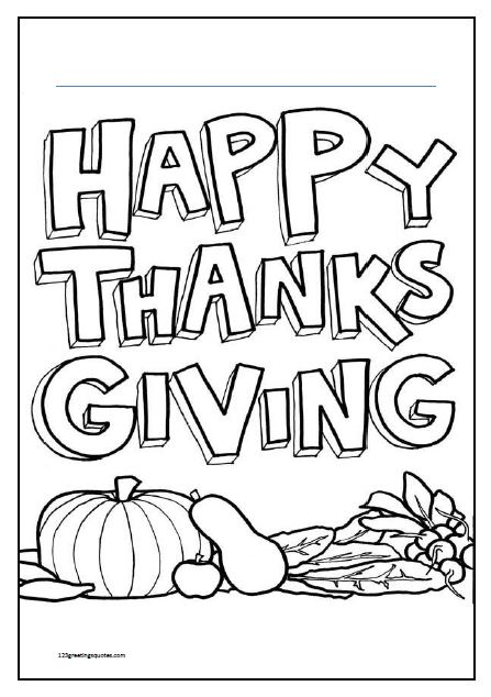 thanksgiving coloring pages printables  best greetings