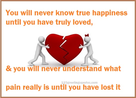 Broken Relationships Images with Sad Quotes