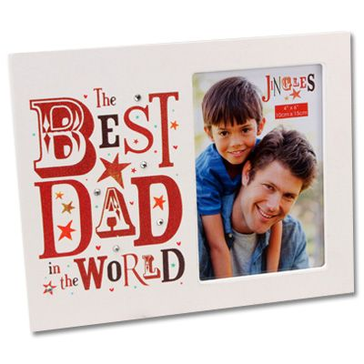 Happy Fathers Day Picture Frames -Photo of DAD
