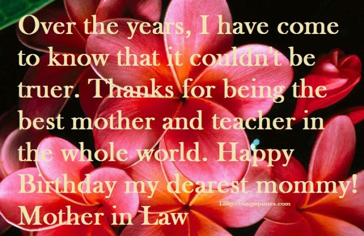 Happy Birthday Wishes For Son In Law: Mother-In Law Birthday Wishes Form Son-in-law & Daughter