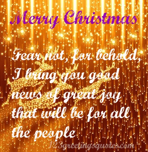 Quotes for Christmas from Bible