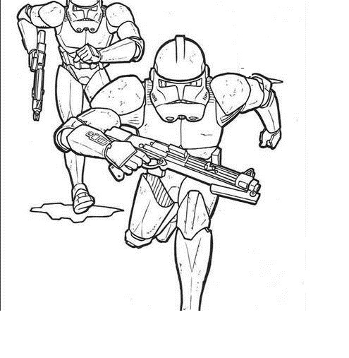 star wars the clone wars coloring pages for children - Best Greetings ...