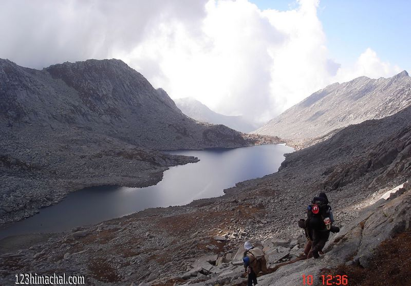 Seven Lakes Of Dhauldhar Kangra Himachal Pradesh