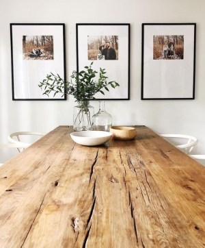 dining rustic minimalist modern beautified accents accent