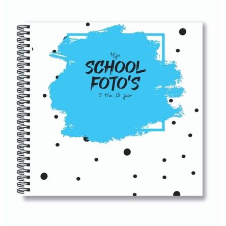 Schoolfoto invulboek 21×21 – Diverse kleuren