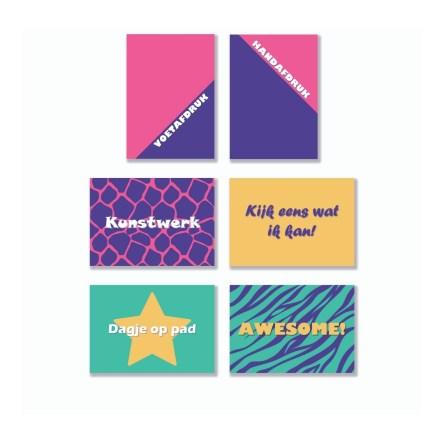 Quote Cards – Peuters (6 stuks)