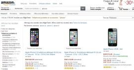 iPhone d'occasion sur Amazon