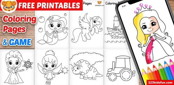 printable coloring books for kids # 10