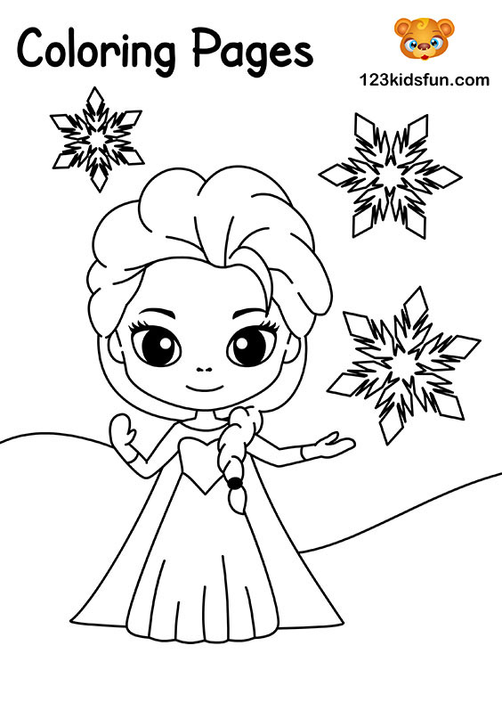 Free Coloring Pages For Girls And Boys 123 Kids Fun Apps