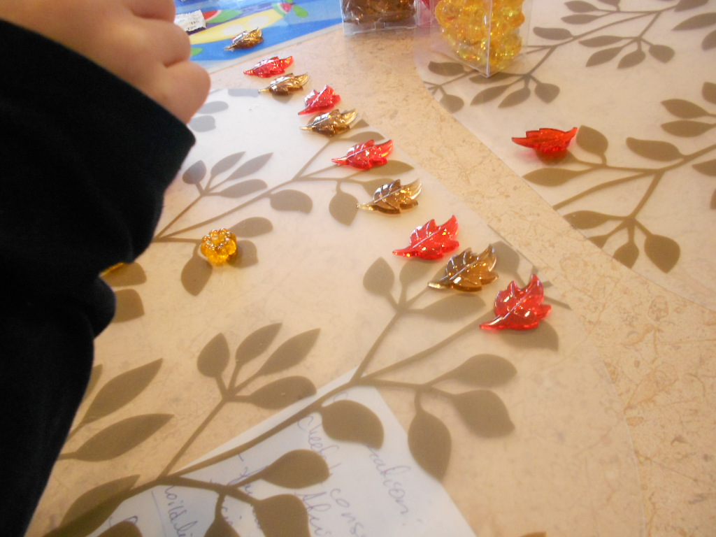 Kindergarten Readiness Halloween Patterning Activities