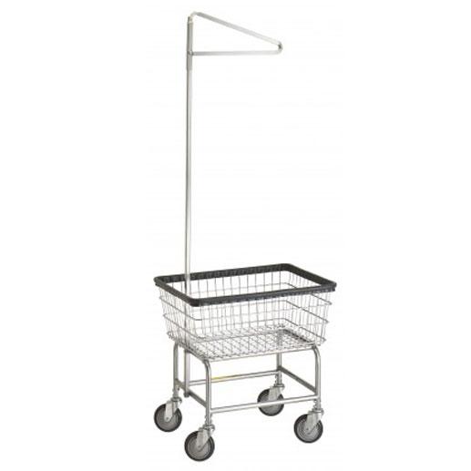 Standard Laundry Cart w/ Single Pole Rack* Model Number