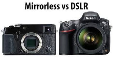 mirrorless vs dslr