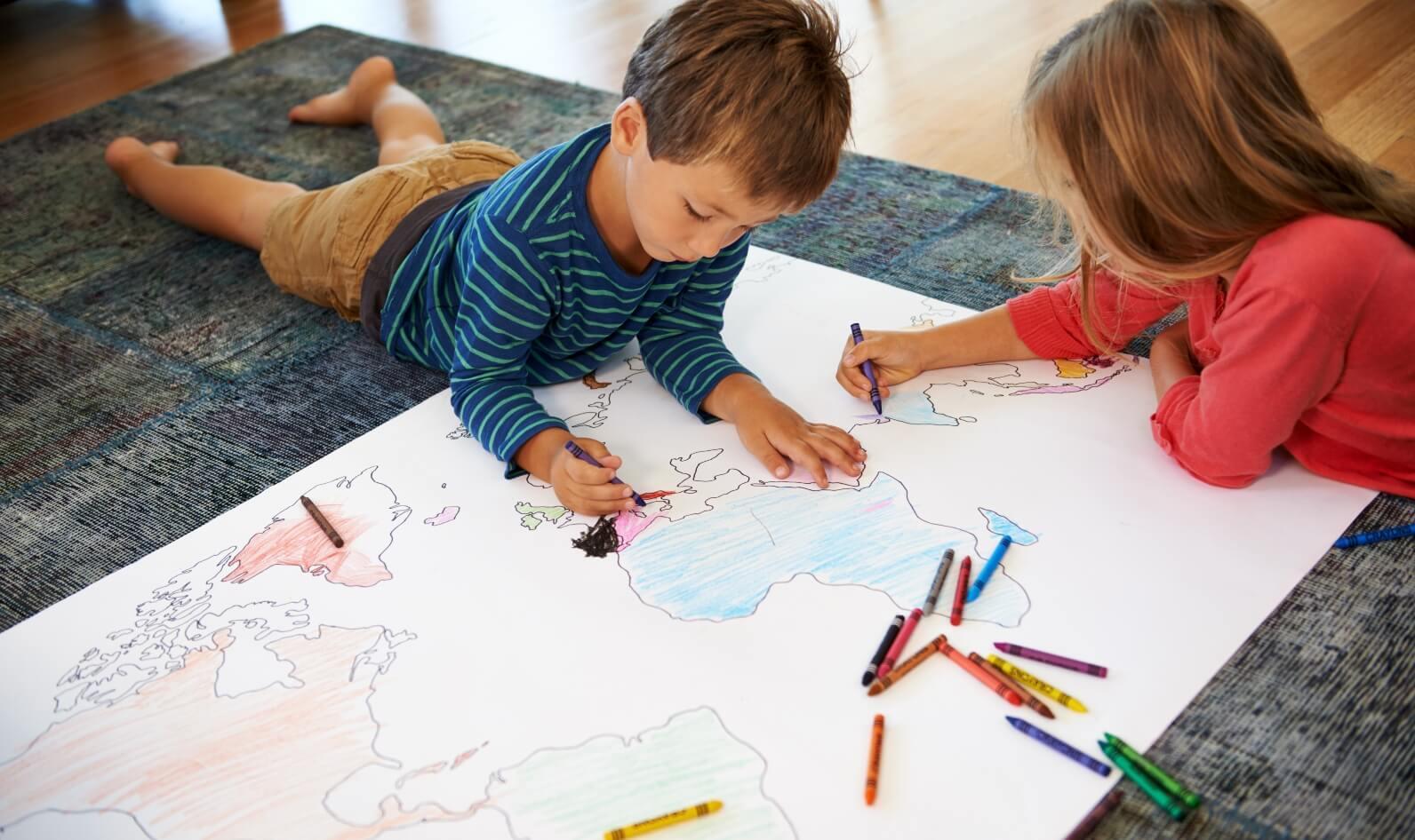 Benefits of drawing for children – 123 por mi