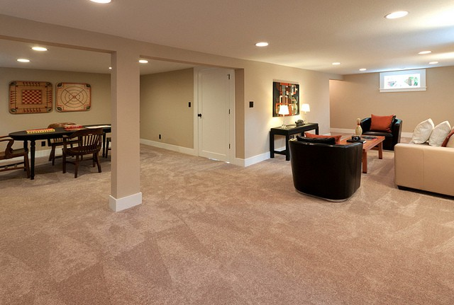 chicago basement remodel by 123 remodeling