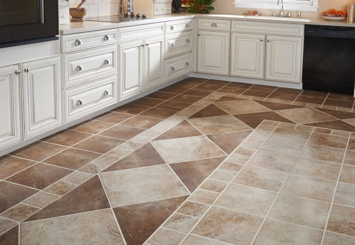 how to choose kitchen floor tile - 123 remodeling