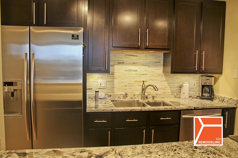 After Kitchen Remodel - 111 E Chestnut, Chicago, IL (Magnificent Mile)