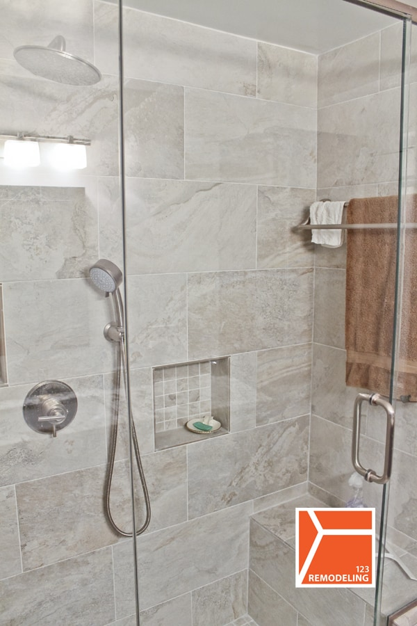 After Bathroom Remodel - 111 E Chestnut, Chicago, IL (Magnificent Mile)