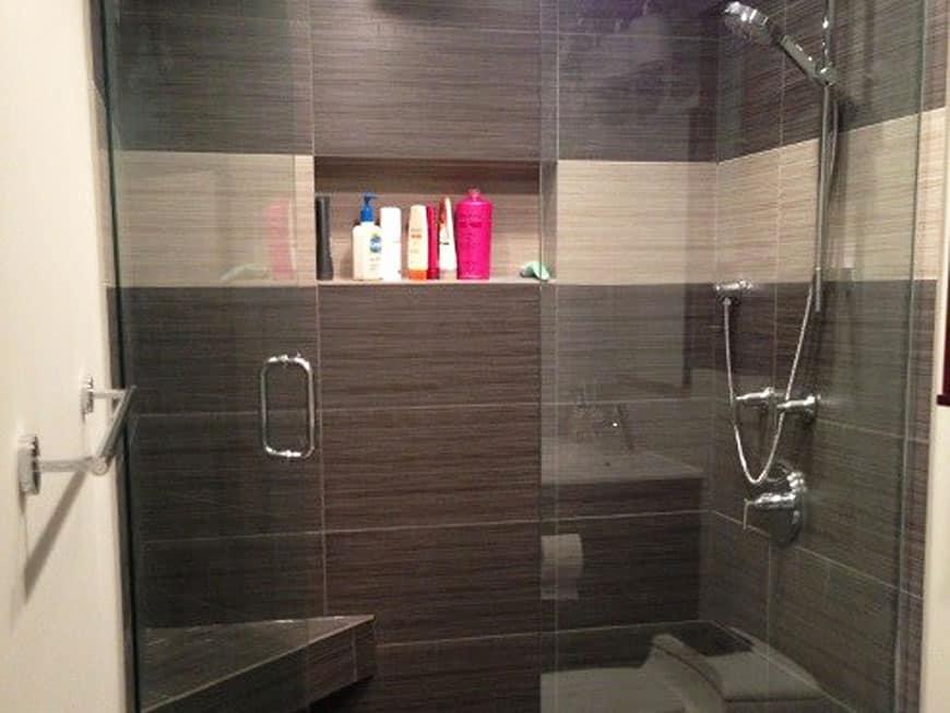Condo Guest Bathroom Remodel at 100 E Huron St in River North