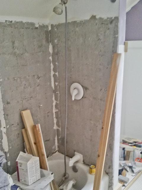 Amanda's small bathroom remodel -  before