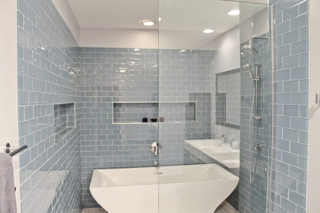 Townhouse Bathroom Remodel - 1435 S Prairie Ave, Chicago, IL (South Loop)